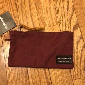new Eddie bygone pouch wallet burgundy red